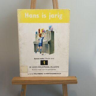 Ik lees helemaal alleen - Hans is jarig