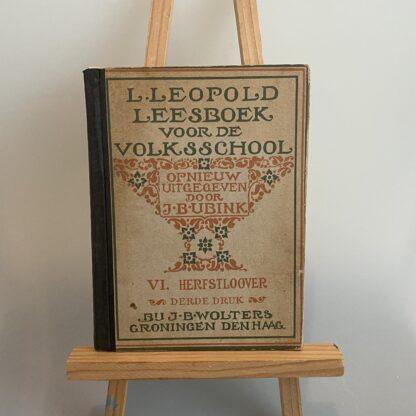 Leesboek voor de volksschool Herfstloover
