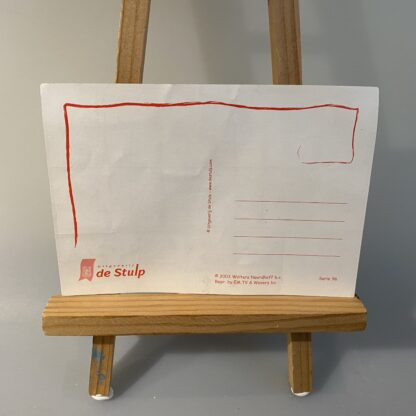 aap noot mies sticker ansichtkaart