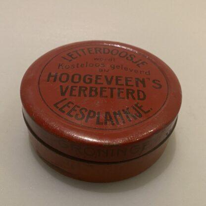 Letterdoosje M B Hoogeveen