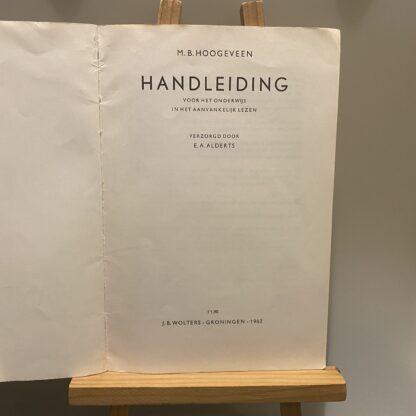 Handleiding M B Hoogeveen
