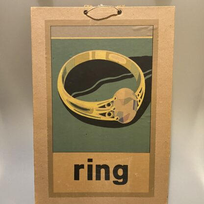 schoolplaat ring