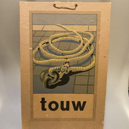 schoolplaat touw