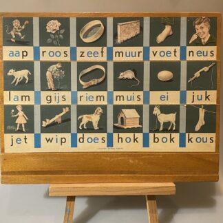 Leesplankje Aap Roos Zeef
