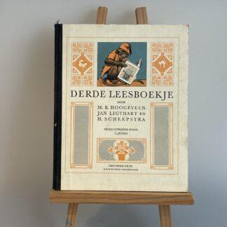 Derde Leesboekje M B Hoogeveen