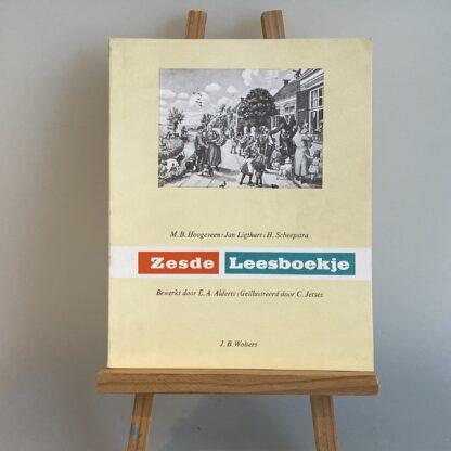 Zesde Leesboekje M B Hoogeveen